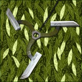 【コスプレ用小道具】戦国BASARA風 猿飛佐助 甲賀手裏剣