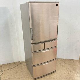 【中古】 近郊送料格安440L プラズマクラスター 5ドア冷蔵庫 シャープ SJ-XW44A-T 2015年製 どっちもドア 自動製氷 3ヶ月保証付