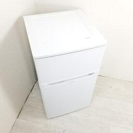 【中古】 83L 冷蔵庫 エルソニック EJ-R832W 2017年製 ホワイト 一人暮らし 単身用 送料無料 3ヶ月保証付