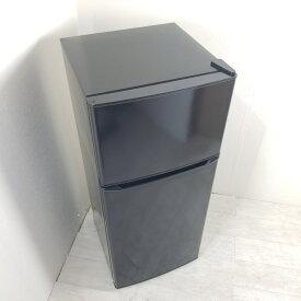 【中古】 130L 2ドア冷蔵庫 ハイアール ブラック JR-N130A-K 2018年〜2019年製 小型 一人暮らし 単身用 おまかせセレクト 送料無料 3ヶ月保証付