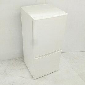 【中古】 スタイリッシュ 157L 冷蔵庫 アクアAQR-16D-W 2014年製 ホワイト ワイド設計で庫内広々 送料無料 3ヶ月保証付