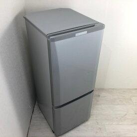 【中古】 146L 2ドア冷蔵庫 三菱電機 MR-P15C-S 2018年製 シルバーカラー 美品 高年式 送料無料 3ヶ月保証付