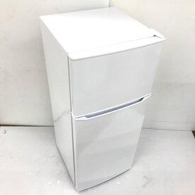 【中古】 130L 2ドア冷蔵庫 ハイアール ホワイト JR-N130A 2019年製 小型 一人暮らし 単身用 送料無料 3ヶ月保証付