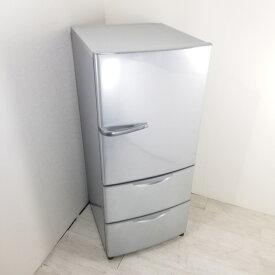 【中古】 近郊送料格安272L 3ドア冷蔵庫 ハイアールアクア AQR-271C-S 2014年製 シルバー まとめ買い ファミリー 3ヶ月保証付