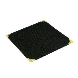 フォーユー スミ金コースター(黒) (10枚入) (C9626-BK) (コースターおしゃれ)(業務用卓上備品)(業務用)(ネコポス対応可)