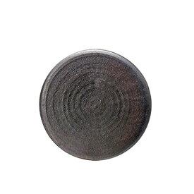 【送料無料】GOURMET ZEN(炭化)28cmプレート6個セット(H55-009-276) [GOURMET][プレート皿]