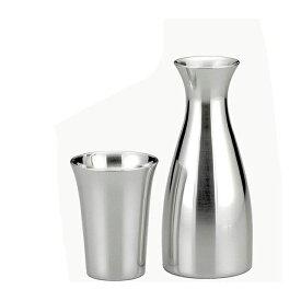 【送料無料】大阪錫器 冷酒セット(13-10)和風 迎春 ハンドメイド 伝統 工芸 日本製 ギフト