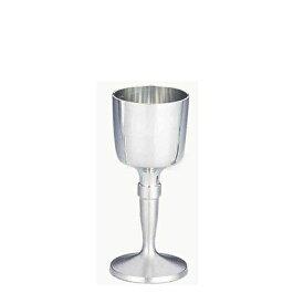 【送料無料】【ギフト】大阪錫器 ワインカップ 白(18-4-1) [和風 迎春 ハンドメイド][伝統][工芸][日本製]