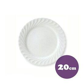 【送料無料】ケーキ皿 21cm 6枚 カネスズ ニューウェーブ(40500219-6P)(洋食器)( 業務用 食器)
