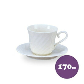 【送料無料】コーヒーカップ&ソーサー 170cc 6客 カネスズ ニューウェーブ(40500949-6P)碗皿 業務用 食器