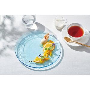【送料無料】プレート 3点セット 30cm リーヴァ(46066KB)食器 大皿 ハンドメイド ガラス食器 日本製 前菜 丸皿