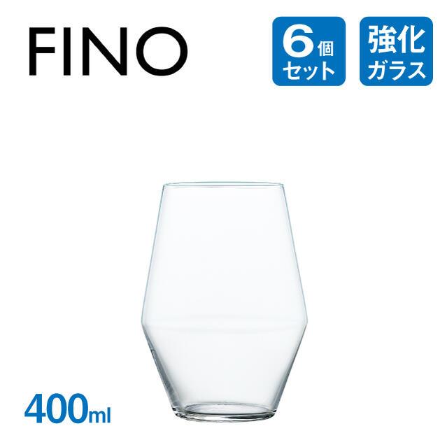 東洋佐々木ガラス フィーノ タンブラー 400ml (6個セット) (B-21125CS)