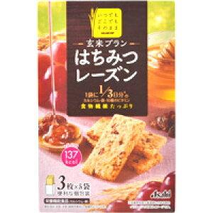 【アサヒ】【バランスアップ】玄米ブラン はちみつレーズン 150g(3枚×5袋)【シリアルバー】【栄養機能食品】