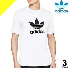 [定価4,389円→3,361円] アディダス adidas Tシャツ メンズ 半袖 カジュアル ブランド 大きいサイズ 綿100% クルーネック プリント ロゴ 白 黒 グレー アディダス オリジナルス CY4574 CW0709 CW0710 [ネコポス発送]