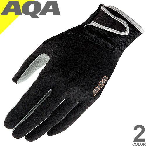 AQA UVライトグローブ マリングローブ 手袋 シュノーケリング シュノーケル uvカット 紫外線 メンズ レディース エーキューエー KW-4470A [ネコポス発送]