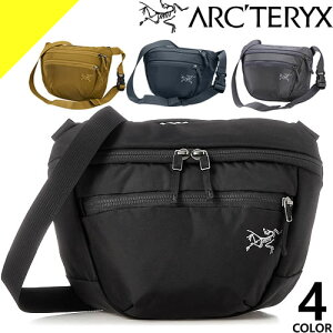 アークテリクス マンティス 2 バッグ ショルダーバッグ ウエストバッグ ボディバッグ メンズ レディース ブランド 斜めがけ ナイロン 小さめ 軽量 かっこいい 黒 ブラック ARC'TERYX Mantis 2 Waistp