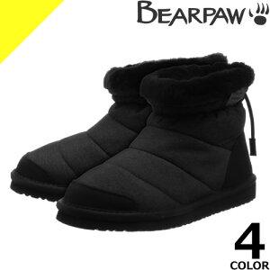 ベアパウ スノーブーツ ムートンブーツ ミニ レディース 防水 防滑 撥水 防寒 BEARPAW 雪 靴 滑らない