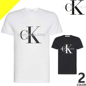 カルバンクライン Tシャツ メンズ 半袖 ブランド 黒 白 ブラック ホワイト ロゴ プリント 大きいサイズ Calvin Klein CK Graphic J30J314229 [ネコポス発送]