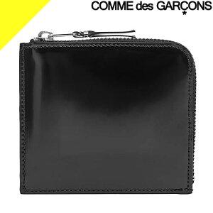 コムデギャルソン 財布 小銭入れ コインケース メンズ レディース L字ファスナー ブランド コンパクト シンプル 薄い 本革 革 レザー 黒 ブラック COMME des GARCONS MILLOR INSIDE SA3100MI