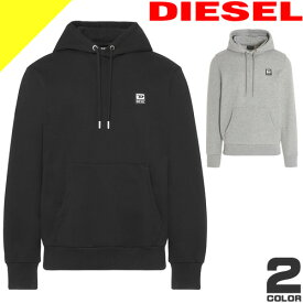 ディーゼル パーカー プルオーバーパーカー メンズ スウェットパーカー ブランド 大きいサイズ おしゃれ ロゴ 黒 ブラック DIESEL S-GIRK-HOOD-K21 A00331 0HAYT