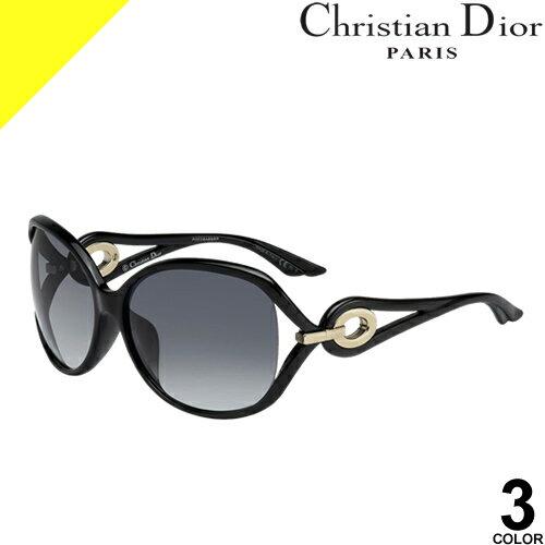 [定価38,880円→26,399円] ディオール サングラス レディース ブランド 丸 UVカット 薄い 色 紫外線対策 Christian Dior VOLUTE2F