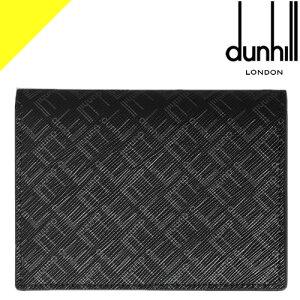 ダンヒル カードケース シグネチャー メンズ ビジネス ブランド スリム 革 薄型 黒 ブラック dunhill SIGNATURE BUSINESS CARD CASE DU21R2470LT
