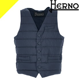 ヘルノ ジレ ダウン ダウンジャケット ダウンベスト メンズ 2019年新作 軽量 防風 ブランド 大きいサイズ ブルー ブラック HERNO LEGEND IL GILET PI012ULE