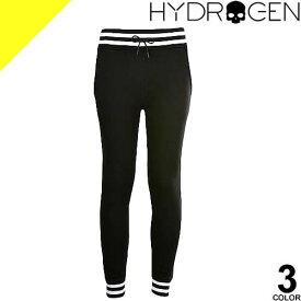 ハイドロゲン パンツ スウェットパンツ メンズ ボトムス ジョガーパンツ リラックスパンツ ブランド 大きいサイズ 裏起毛 黒 白 スカル カジュアル Hydrogen SWEATPANTS 230646