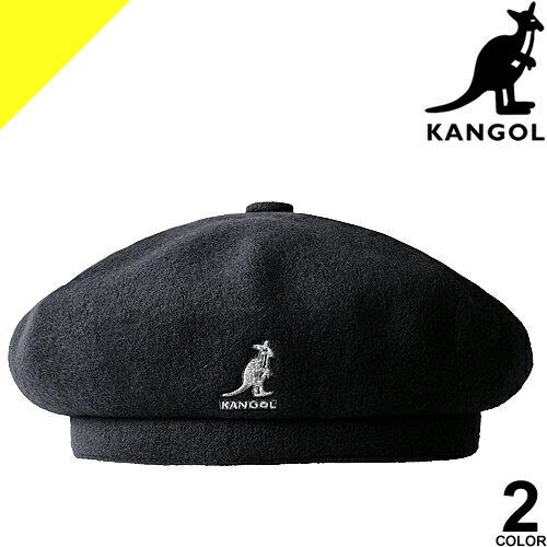 カンゴール KANGOL ベレー 帽子 メンズ レディース ワンポイント ロゴキャップ ウール カジュアル 大きいサイズ おしゃれ 黒 ブラック Wool Jax Beret 187-169015