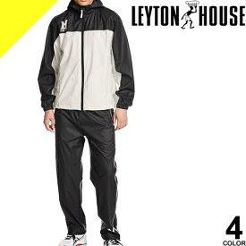[7,150円→4,480円] LEYTON HOUSE レイトンハウス トレーニングウェア スポーツウェア ランニングウェア サウナスーツ メンズ 上下 セット 大きいサイズ おしゃれ ダイエットシェイプアップスーツ LD-211M