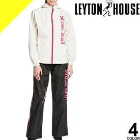 [6,490円→4,277円] LEYTON HOUSE レイトンハウス トレーニングウェア スポーツウェア ランニングウェア サウナスーツ レディース セット 上下 大きいサイズ おしゃれ ダイエットシェイプアップスーツ LD-201L