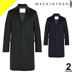 [定価151,800円→79,399円] マッキントッシュ MACKINTOSH コート メンズ 2019年新作 ウールコート GM-035F メルトンコート チェスターコート ロングコート ブランド 大きいサイズ ビジネス ブラック ネイビー