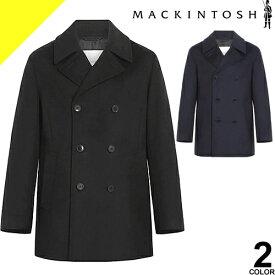 マッキントッシュ コート Pコート ウールコート メンズ ブルーム BROOM ブランド ウール 大きいサイズ 冬 暖かい カジュアル ビジネス 黒 ブラック ネイビー MACKINTOSH GM-1017F