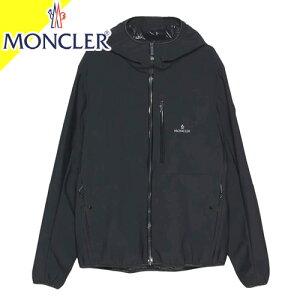 モンクレール ナイロンパーカー ブルゾン ジャケット メンズ シャルドン CHARDON ラバー ワッペン 大きいサイズ ブランド 春 薄手 黒 ブラック MONCLER 1A749 00 539HW