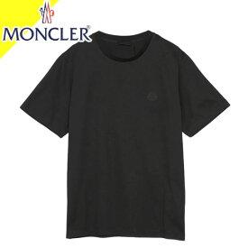 モンクレール Tシャツ メンズ 半袖 クルーネック 丸首 ブランド 大きいサイズ プリント ロゴ 白 ホワイト MONCLER T-SHIRT 8C72910 829HP 001 [ネコポス発送]