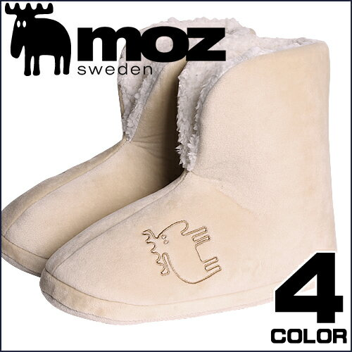 [2,592円→1,699円] moz モズ ブーツ スリッパ ルームシューズ ルームブーツ レディース メンズ おしゃれ 北欧 ブランド あったか もこもこ 来客用 洗える 大きいサイズ
