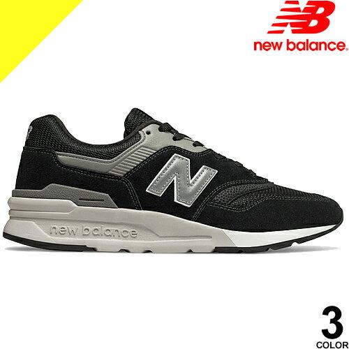 [定価12,852円→7,399円] ニューバランス スニーカー メンズ 黒 ブラック グレー 997 靴 シューズ おしゃれ カジュアル NEW BALANCE CM997HAI CM997HCA CM997HCC 996 好きにも
