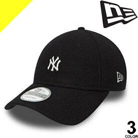 [定価4,104円→2,999円] ニューエラ NEW ERA キャップ 帽子 ミニロゴ メルトン ベースボールキャップ メンズ レディース ブランド 大きいサイズ アメカジ 9TWENTY New York Yankees Mini Logo MELTON [ネコポス発送]