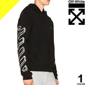 オフホワイト OFF-WHITE パーカー スウェット メンズ ブランド 大きいサイズ 黒 ブラック MARKER ARROWS HOODIE