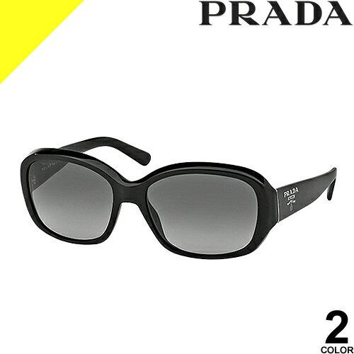 [定価31,320円→17,399円] プラダ サングラス レディース メンズ uvカット 黒縁 薄い色 ブランド 紫外線対策 専用ケース付き スクエア 軽量 PRADA 31NSA 2AU8C1 1AB3M1