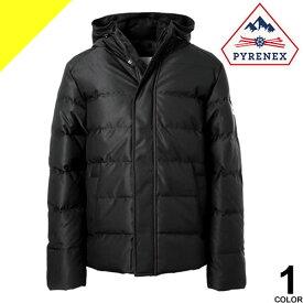 ピレネックス スプートニックジャケット マット ダウン ダウンジャケット メンズ フード付き ブランド 大きいサイズ 撥水 暖かい 紺 ネイビー PYRENEX SPOUTNIC MAT