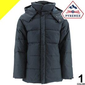 ピレネックス ベルフォール ダウン ダウンジャケット メンズ フード付き ブランド 大きいサイズ 撥水 暖かい 紺 ネイビー PYRENEX BELFORT