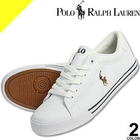ポロ ラルフローレン スニーカー レディース ホワイト ネイビー 白 紺 靴 ブランド シンプル おしゃれ かわいい ワンポイント Polo Ralph Lauren EASTEN RF101121 RF100702