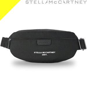 ステラマッカートニー ボディバッグ ウエストポーチ ウエストバッグ レディース メンズ 大きめ ブランド ナイロン 大容量 ファニーパック 2way 黒 ブラック ロゴ かわいい きれいめ Stella McCart