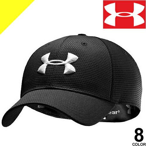 [3,456円→1,799円] アンダーアーマー キャップ メンズ スポーツキャップ 帽子 メッシュ ゴルフ ブランド 大きいサイズ UNDER ARMOUR 1254123