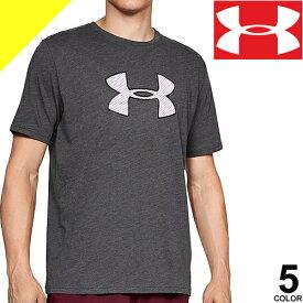 UNDER ARMOUR アンダーアーマー Tシャツ ヒートギア メンズ 半袖 大きいサイズ ブランド スポーツ ランニング トレーニングウェア ワンポイント クルーネック ドライ 白 黒 グレー ネイビー 1329583 [ネコポス発送]