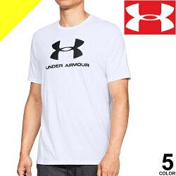 UNDERARMOURアンダーアーマーTシャツメンズヒートギア半袖ロゴランニングウェアスポーツウェアおしゃれ大きいサイズコーディネート1326413[ネコポス発送]