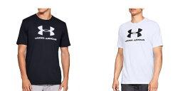 UNDERARMOURアンダーアーマーTシャツメンズヒートギア半袖ロゴランニングウェアスポーツウェアおしゃれ大きいサイズコーディネート1329590[ネコポス発送]