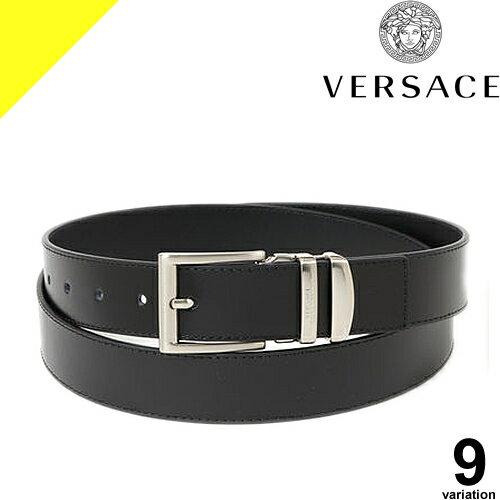 ヴェルサーチ ベルサーチ VERSACE ベルト レザー メンズ ブランド ブラック 黒 ビジネス プレゼント V239 V000