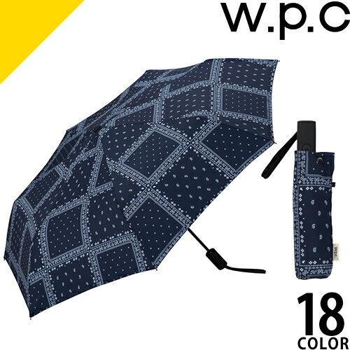 wpc w.p.c 折りたたみ傘 自動開閉 2018 メンズ レディース 傘 雨傘 58cm 7本骨 軽量 大きい 丈夫 グラスファイバー シンプル おしゃれ かわいい ブランド